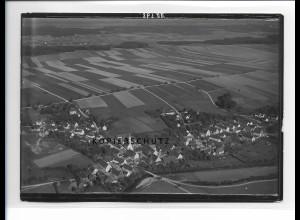 ZZ-1273/ Ellzee Foto seltenes Luftbild 1936 18 x 13 cm