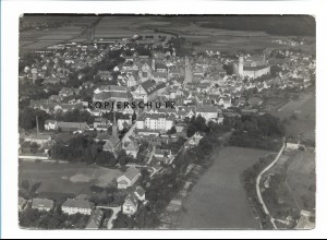 ZZ-1274/ Dillingen Foto seltenes Luftbild 1936 18 x 13 cm