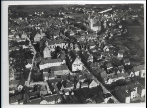 ZZ-1275/ Dillingen Foto seltenes Luftbild 1936 18 x 13 cm