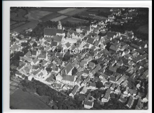 ZZ-1281/ Höchstädt a.d D. Foto seltenes Luftbild 1938 18 x 13 cm