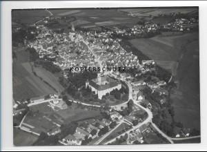 ZZ-1282/ Höchstädt a.d D. Foto seltenes Luftbild 1938 18 x 13 cm