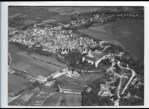 ZZ-1283/ Höchstädt a.d D. Foto seltenes Luftbild 1938 18 x 13 cm