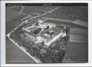 ZZ-1285/ Mödingen Kloster Foto seltenes Luftbild 1938 18 x 13 cm