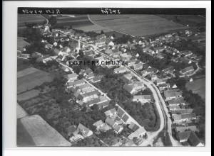 ZZ-1288/ Blindheim Foto seltenes Luftbild 1936 18 x 13 cm