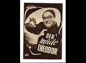 C3389/ IFB 3748 Filmprogramm Der müde Theodor mit Heinz Erhardt