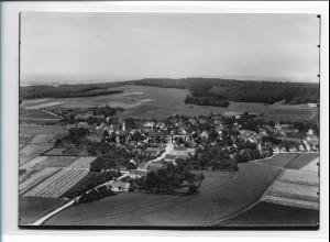 ZZ-1293/ Lutzingen Foto seltenes Luftbild 1934 18 x 13 cm