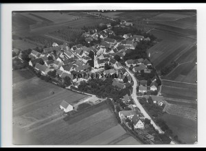 ZZ-1296/ Reistingen b. Ziertheim Foto seltenes Luftbild 1936 18 x 13 cm