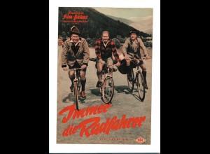 C3390/ IFB 4455 Filmprogramm Immer die Radfahrer, Heinz Erhardt, Kulenkampff