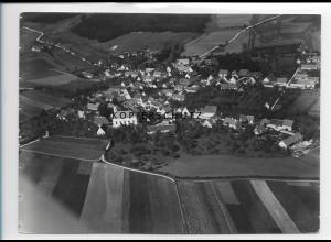 ZZ-1297/ Zöschingen Foto seltenes Luftbild 1936 18 x 13 cm