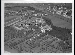 ZZ-1298/ Untermarchtal Foto seltenes Luftbild 1938 18 x 13 cm