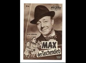C3578/ IFB 6046 Filmprogramm Heinz Rühmann Max der Taschendieb