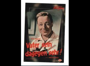 C3581/ IFB 3895 Filmprogramm Heinz Rühmann Vater sein dagegen sehr!