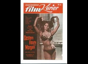 C3587/ Ill. Film-Kurier Filmprogramm Sophia Loren in Gestern Heute und Morgen