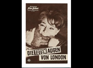 C3584/ IFB 05695 Filmprogramm Edgar Wallace Die toten Augen von London