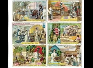 Y17345/ Herstellung von Schokolade Hartwig & Vogel Serie Tell-Chocolade