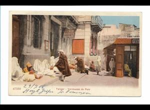 Y17406/ Tanger Marokko Vendeuse de Pain AK 1906