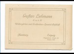 Y17421/ Leipzig Intern. Baufach-Ausstellung 1913 Gustav Lehmann Grottenbau