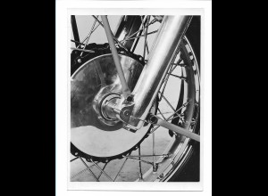 C3828/ Fahrrad Vorderradbefestigung KS 601 Foto ca.1955-60 17 x 13 cm