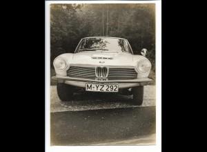 C3813/ BMW 1600 GT Pressefoto 24 x 18 cm 1969