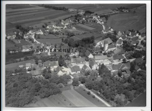 ZZ-1472/ Albertsweiler Foto seltenes Luftbild 1938 18 x 13 cm