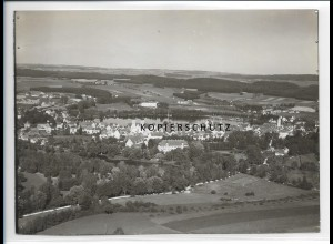 ZZ-1549/ Bad Waldsee Foto seltenes Luftbild 1935 18 x 13 cm
