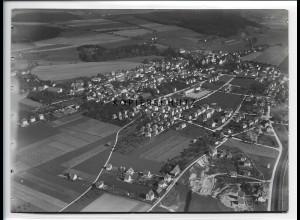ZZ-1588/ Aulendorf Foto seltenes Luftbild 1937 18 x 13 cm
