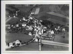 ZZ-1591/ Amtzell b. Wangen Foto seltenes Luftbild 1937 18 x 13 cm