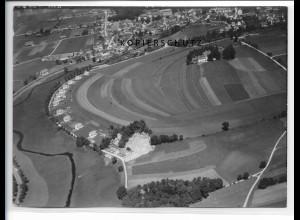 ZZ-1593/ Bad Wurzach Foto seltenes Luftbild 1938 18 x 13 cm