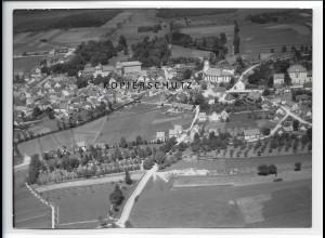 ZZ-1595/ Bad Wurzach Foto seltenes Luftbild 1938 18 x 13 cm