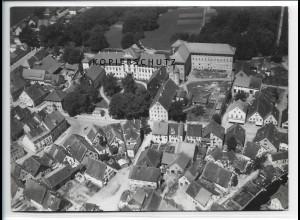 ZZ-1597/ Bad Wurzach Foto seltenes Luftbild 1938 18 x 13 cm