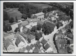 ZZ-1598/ Bad Wurzach Foto seltenes Luftbild 1938 18 x 13 cm