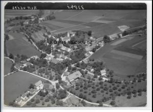 ZZ-1599/ Eggmannsried b. Wurzach Foto seltenes Luftbild 1938 18 x 13 cm