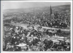 ZZ-1600/ Neu-Ulm Foto seltenes Luftbild ca.1938 18 x 13 cm