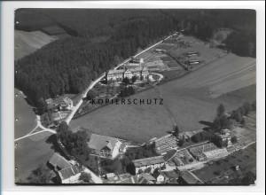 ZZ-1601/ Leutkirch Krankenhaus Foto seltenes Luftbild 1937 18 x 13 cm
