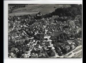 ZZ-1602/ Leutkirch Foto seltenes Luftbild 1937 18 x 13 cm
