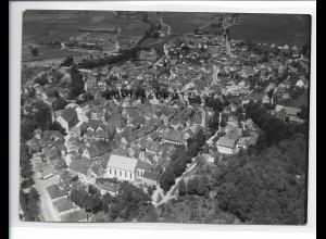 ZZ-1604/ Leutkirch Foto seltenes Luftbild 1938 18 x 13 cm