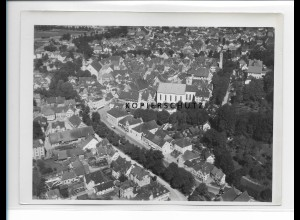 ZZ-1605/ Leutkirch Foto seltenes Luftbild 1938 18 x 13 cm