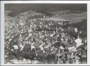 ZZ-1606/ Leutkirch Foto seltenes Luftbild 1937 18 x 13 cm