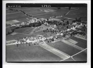 ZZ-1607/ Mailand bei Leutkirch Foto seltenes Luftbild 1938 18 x 13 cm