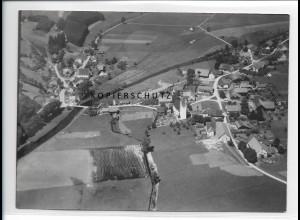 ZZ-1608/ Diepoldshofen bei Leutkirch Foto seltenes Luftbild 1938 18 x 13 cm