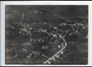 ZZ-1612/ Meckenbeuren Foto seltenes Luftbild ca.1938 18 x 13 cm