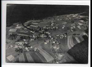 ZZ-1647/ Schnarrtanne b. Auerbach Foto seltenes Luftbild 1939 18 x 13 cm