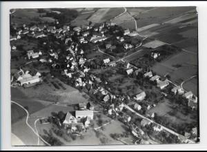 ZZ-1650/ Dorf Wehlen b. Königstein Foto seltenes Luftbild 1938 18 x 13 cm