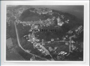 ZZ-1659/ Augustusburg Foto seltenes Luftbild 1939 18 x 13 cm