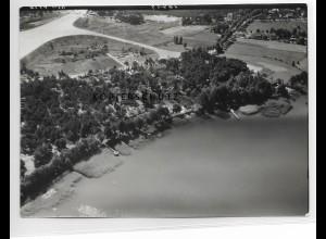 ZZ-5141/ Schwerin bei Groß Körtis Foto seltenes Luftbild 18 x 13 cm 1939