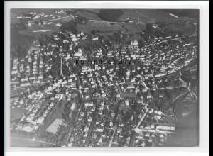 ZZ-1679/ Bad Reichenhall Foto seltenes Luftbild 1938 18 x 13 cm