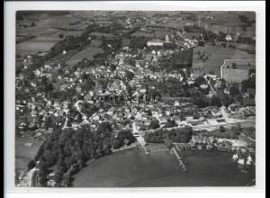 ZZ-1718/ Dießen am Ammersee Foto seltenes Luftbild 1938 18 x 13 cm