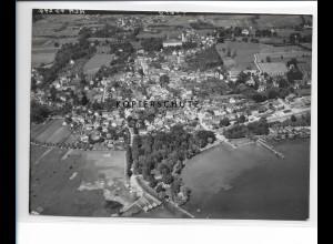 ZZ-1719/ Dießen am Ammersee Foto seltenes Luftbild 1938 18 x 13 cm