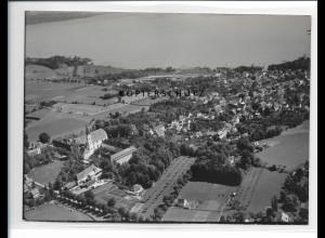 ZZ-1720/ Dießen am Ammersee Foto seltenes Luftbild 1938 18 x 13 cm