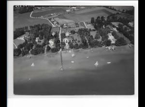 ZZ-1721/ Holzhausen bei Utting Foto seltenes Luftbild 1938 18 x 13 cm
